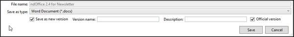 Version Naming in NetDocs 2.4 Update