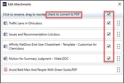 ndOffice convert to PDF