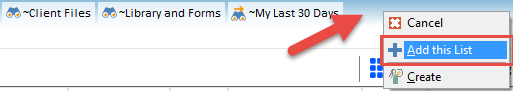 Save searches as bookmarks in Worldox